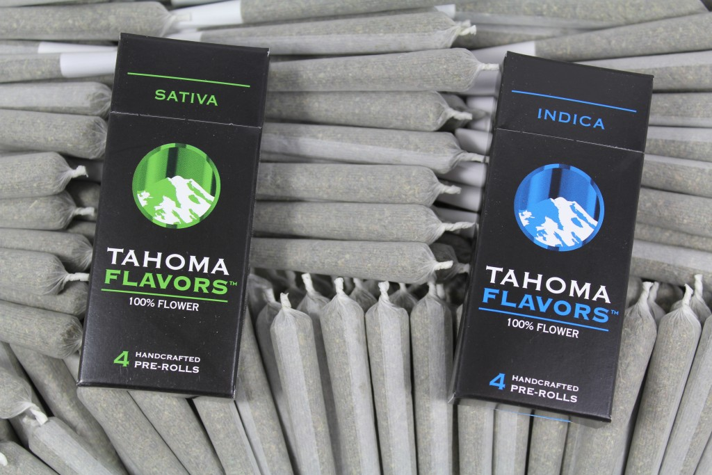 Tahoma Flavors Pre-roll Boxes