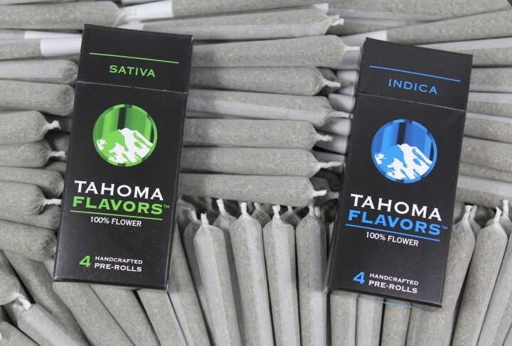 Tahoma Flavors Pre rolls