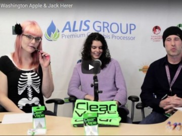 Clear Vape: Washington Apple & Jack Herer